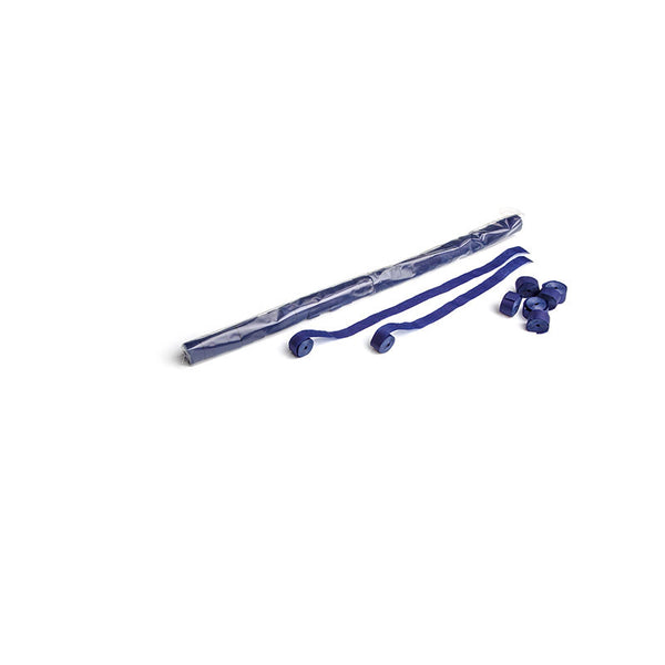 Streamers 10m x 1.5cm - Dark Blue