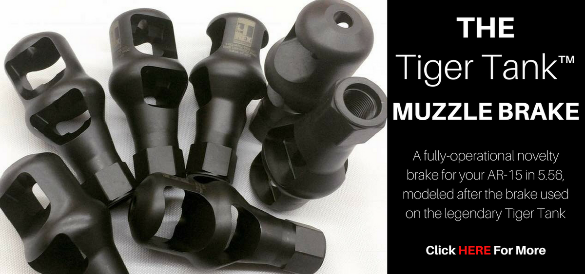 T-Rex Small Arms The Tiger Tank Muzzle Brake AR-15 5.56 Reduced Recoil Flash Chiappa Rhino Revolvers For Sale