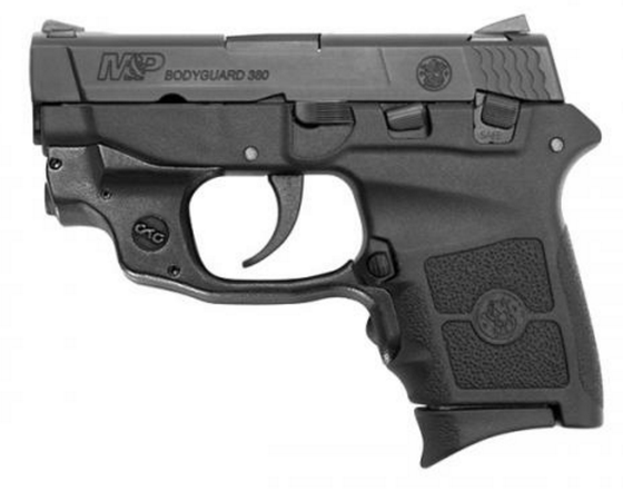 S&W M&P® BODYGUARD® 380 CRIMSON TRACE® GREEN LASERGUARD®  (10178)