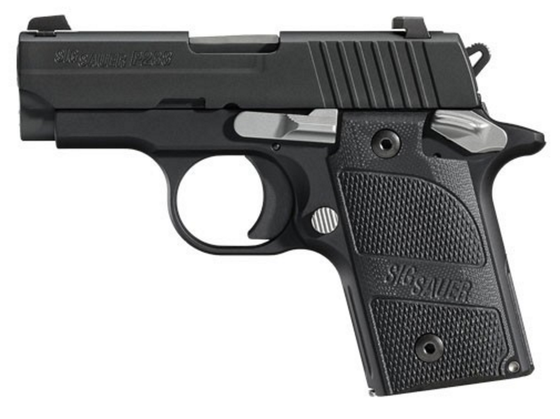 Sig Sauer P238 Nightmare (238-380-NMR) Nitron, G10 grip