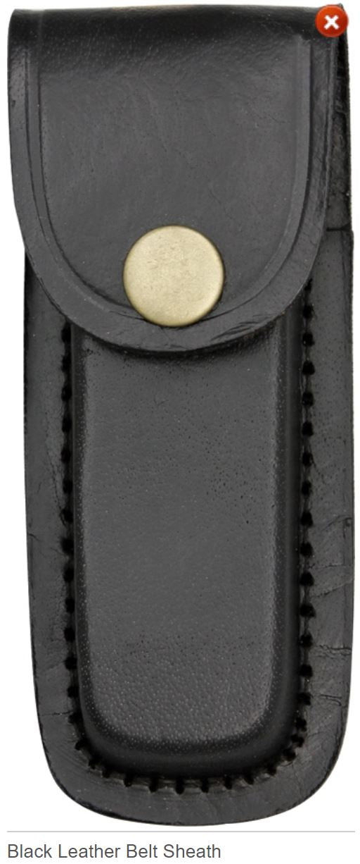 Black Leather Sheath