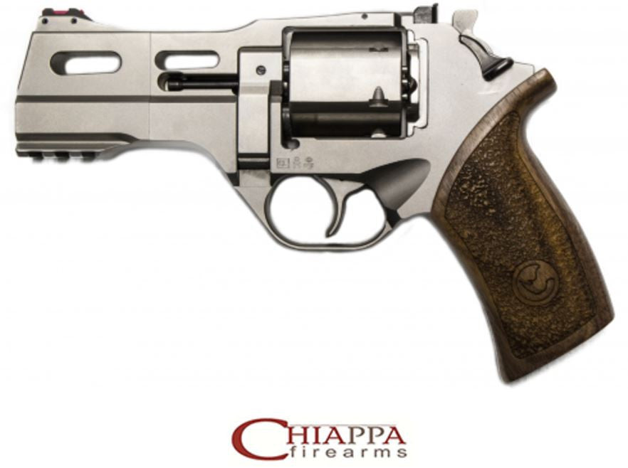 "CHIAPPA RHINO 4"" 40DS 40S&W Chrome Nickel  (340.232)"
