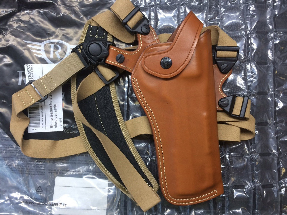 "Chiappa Rhino - 6"" Leather Shoulder Holster 