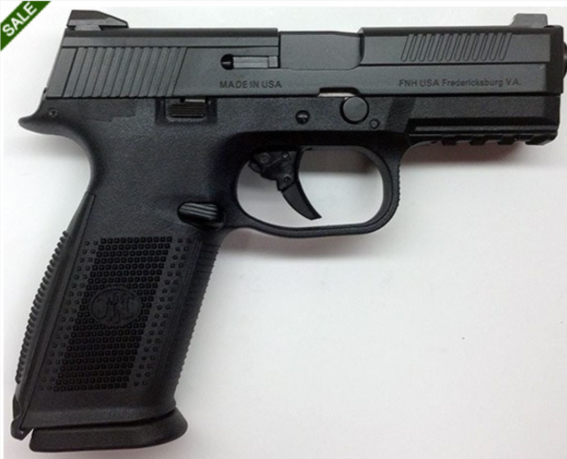 FNS-9 9MM BLK 17+1 FS * STRIKER FIRED/NO MANUAL SAFETY 9mm (FN66752 )