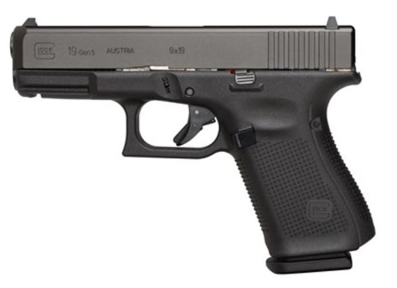 "GLOCK - G19 G5 9MM 15+1 4.0"" FS 3-15RD MAGS 