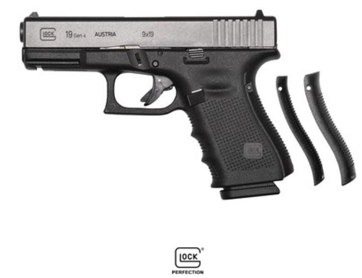 "GLOCK - G19 G4 9MM 15+1 4.0"" FS 3-15RD MAGS 