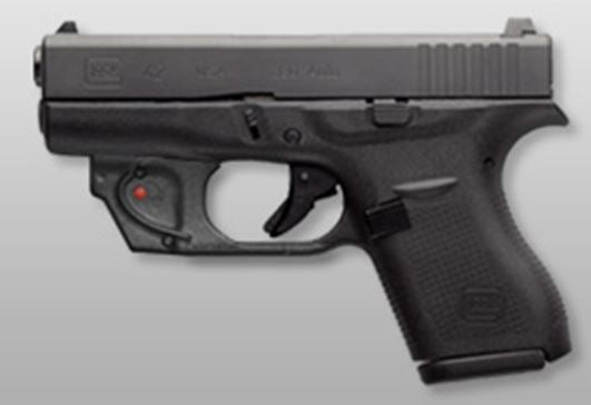 Glock 42 with Viridian Laser - Slimline Single-Stack Subcompac .380 ACP (UI4250201)