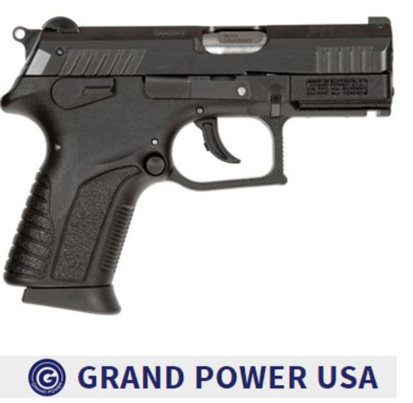 "GRAND POWER GPP11D P11 MK12 9MM 3.35"" (2)12RD MAGS 