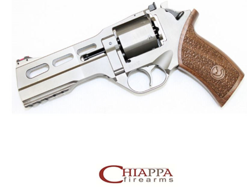 "CHIAPPA RHINO 5"" 50DS 40S&W Chrome Nickel  (340.233)"