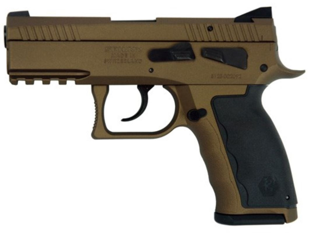 Sphinx SDP Compact ALPHA 9mm Pistol - Burnt Bronze | 15rd