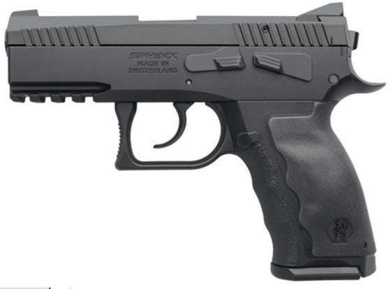 Sphinx SDP Compact ALPHA 9mm Pistol - Black | 15rd