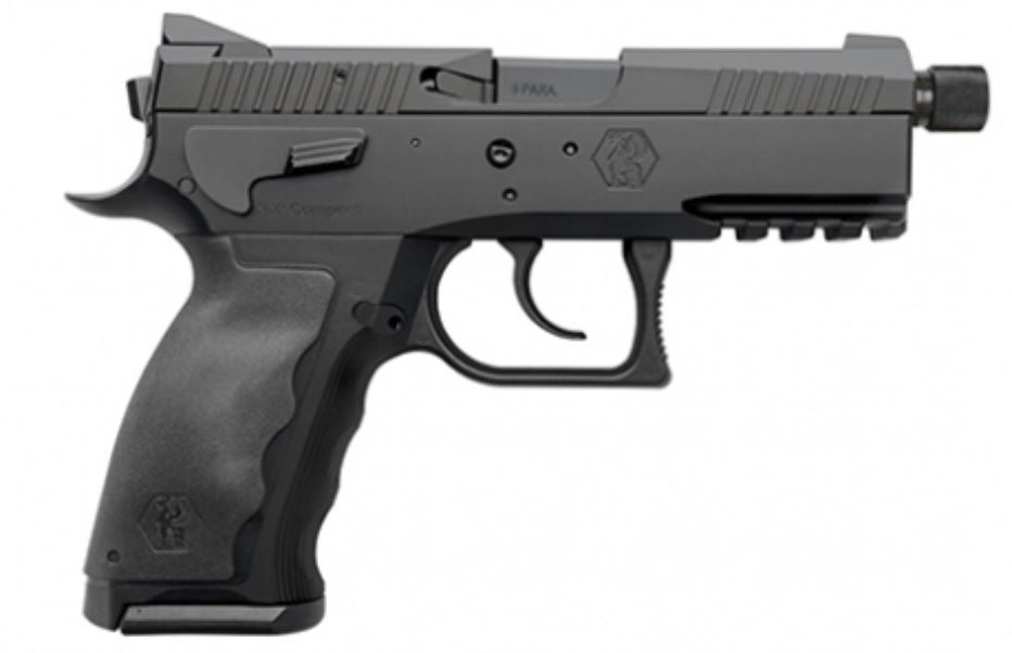 Sphinx SDP Compact Duty 9mm Pistol - Black | 17rd | Threaded Barrel