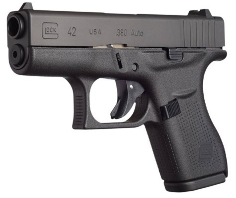 Glock 42 - Slimline, Single-Stack, Subcompact, .380 ACP (UI4250201)
