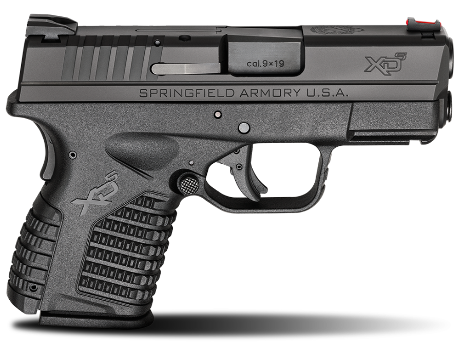 "Springfield Armory - 3.3"" SINGLE STACK 9MM BLACK (XDS9339BE)"