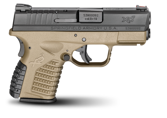 "Springfield Armory - 3.3"" SINGLE STACK 9MM FDE (XDS9339DEE)"