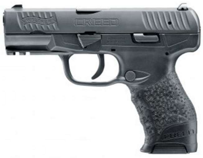 "Walther, CREED 9MM BLACK 16+1 4"" (2815516)"