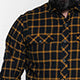 Black / Yellow Flannel