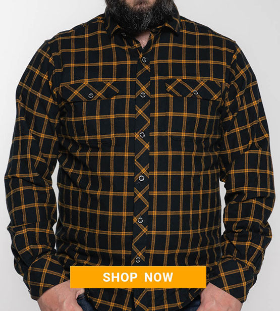 Flannel - Blk/Yellow
