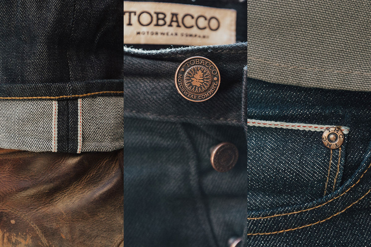 Indigo Selvedge Detail