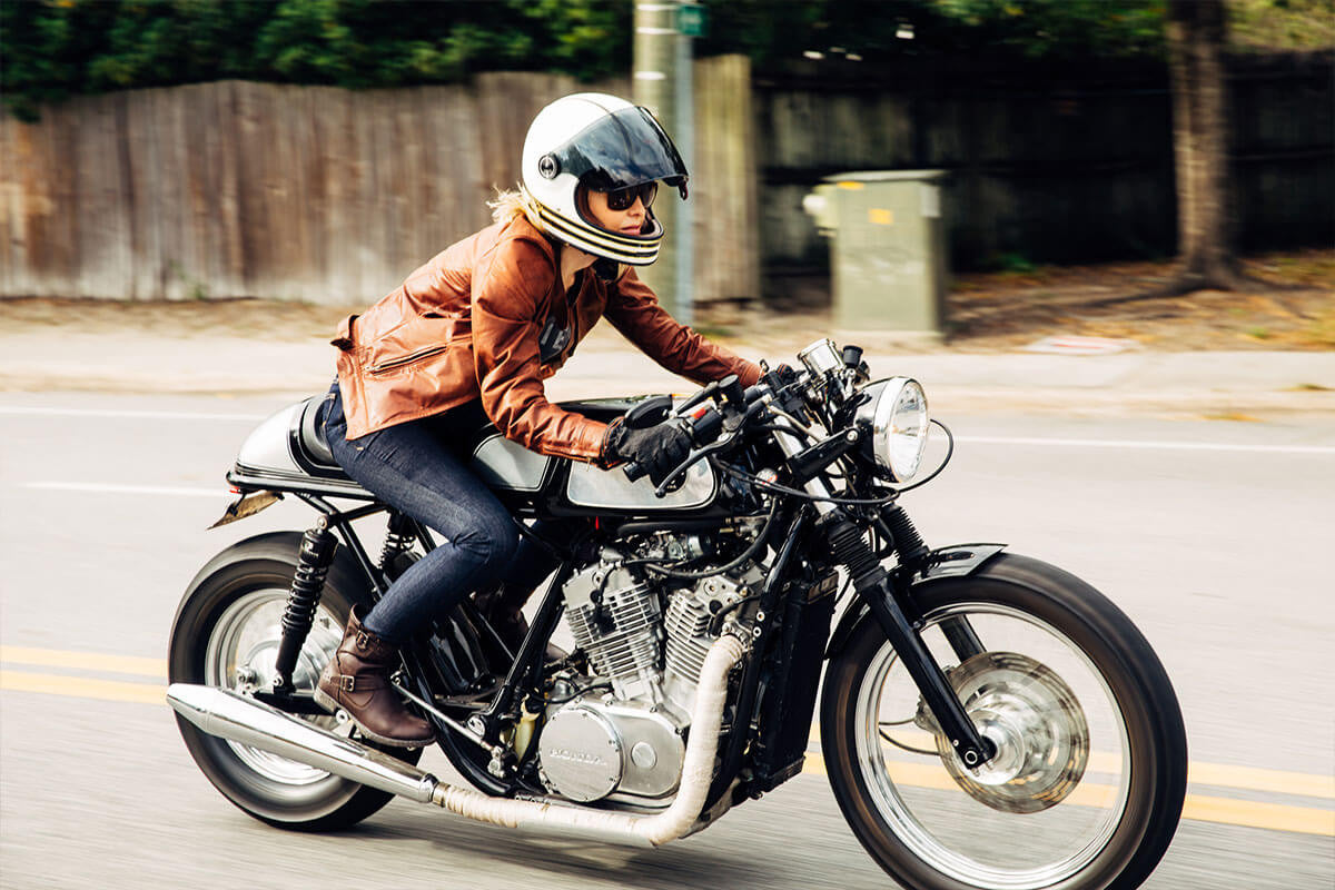 Womens Indigo on Bike