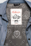 California Riding Shirt 2.0 - Folsom Blue Herringbone Denim - Limited Run