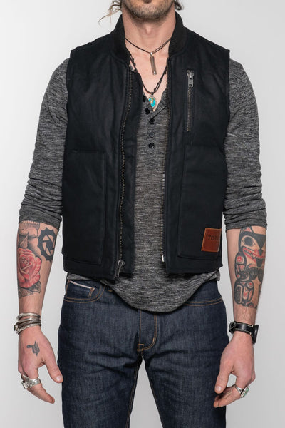 The Wasteland Vest - Black