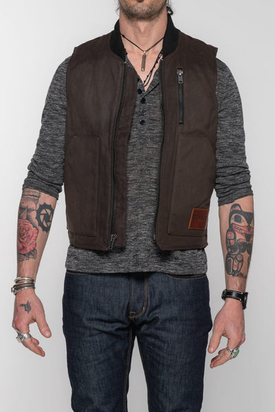 The Wasteland Vest - Brown