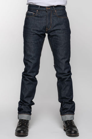 Indigo Selvedge Protective Riding Jeans