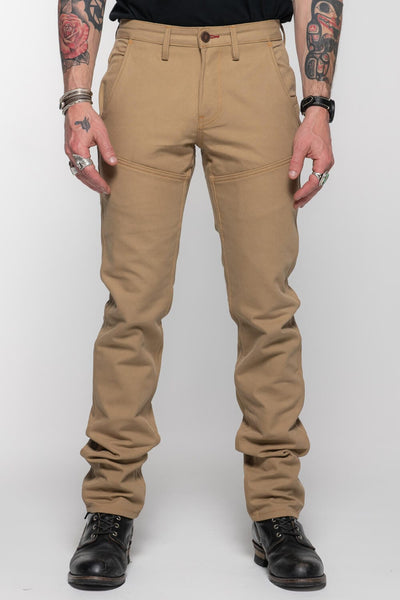 Journeymen - Sand Canvas Protective Riding Pants