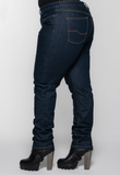Women's Indigo Protective Riding Jeans