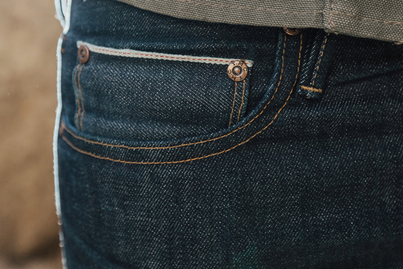 Selvedge Jeans Pocket