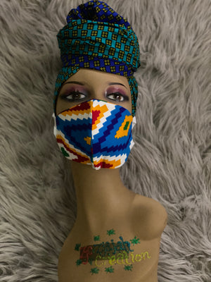 Ankara Reusable Face Mask