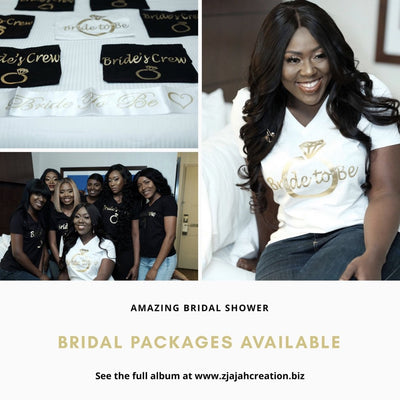 Bridal Packages T- Shirt / Traditional Silver Bridal