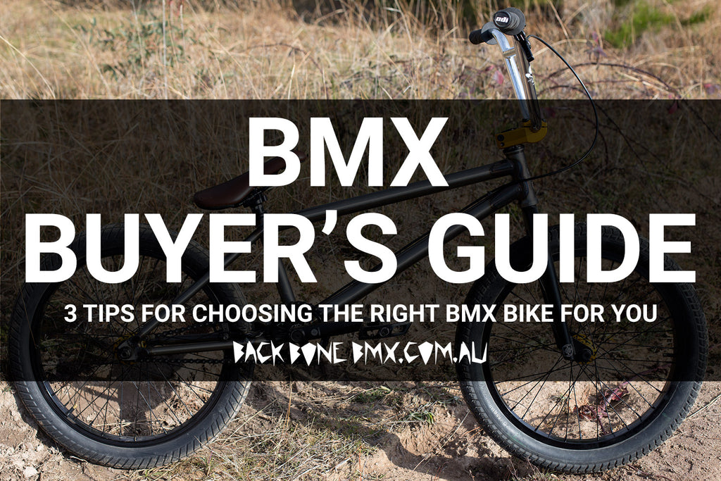 3 Tips For Choosing The Best BMX Bike For You - A BMX Buyers Guide