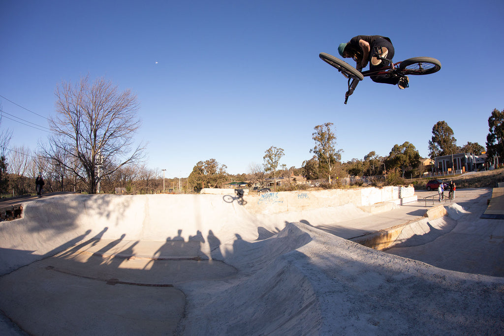 There's a BMX built DIY skatepark in Canberra (Video)