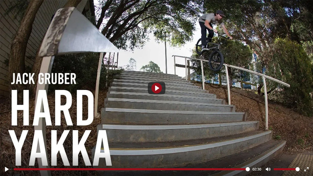 Jack Gruber Hard Yakka for United Bike Co.