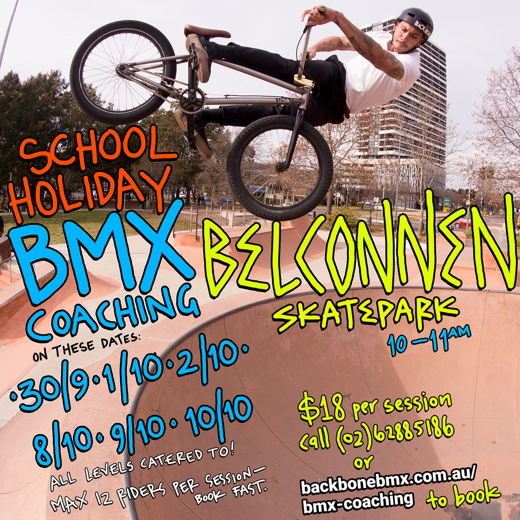 Ride BMX this school holidays
