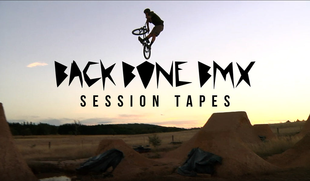 Back Bone BMX Session Tapes Video