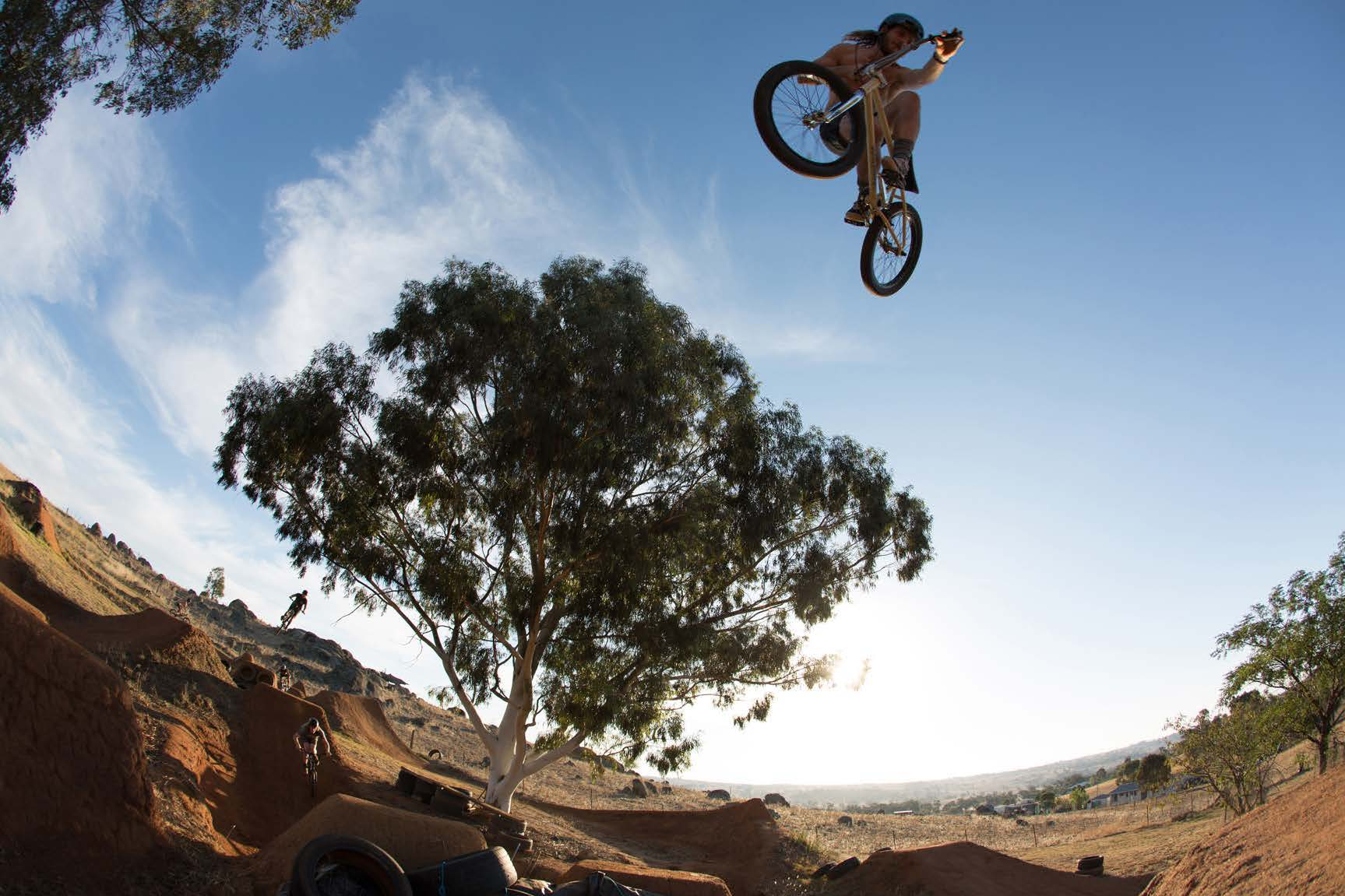 Chris Harti bmx bike check riding bmx trails