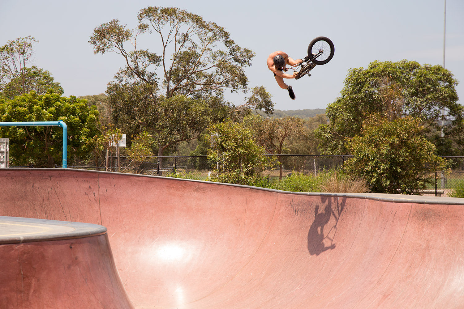 Bob Saunders one foot table bateau bay skatepark