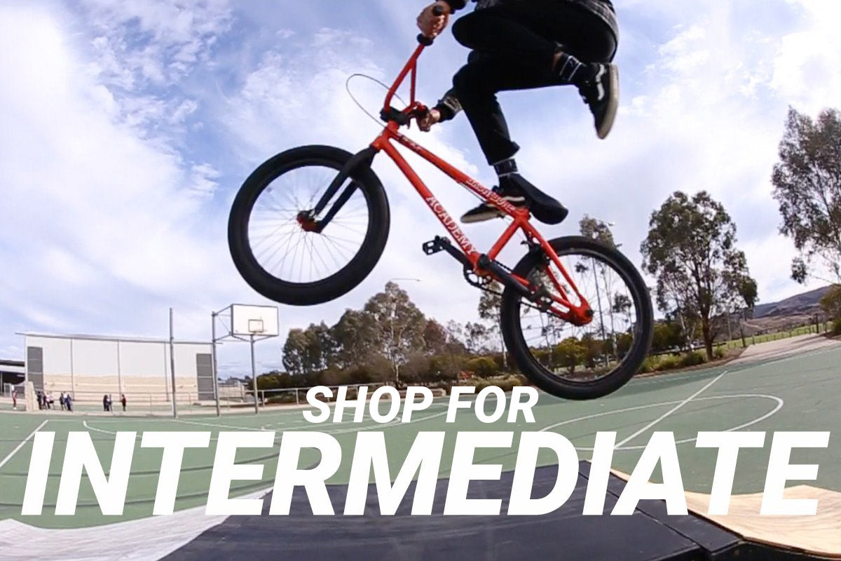 shop intermediate bmx bikes at back bone bmx