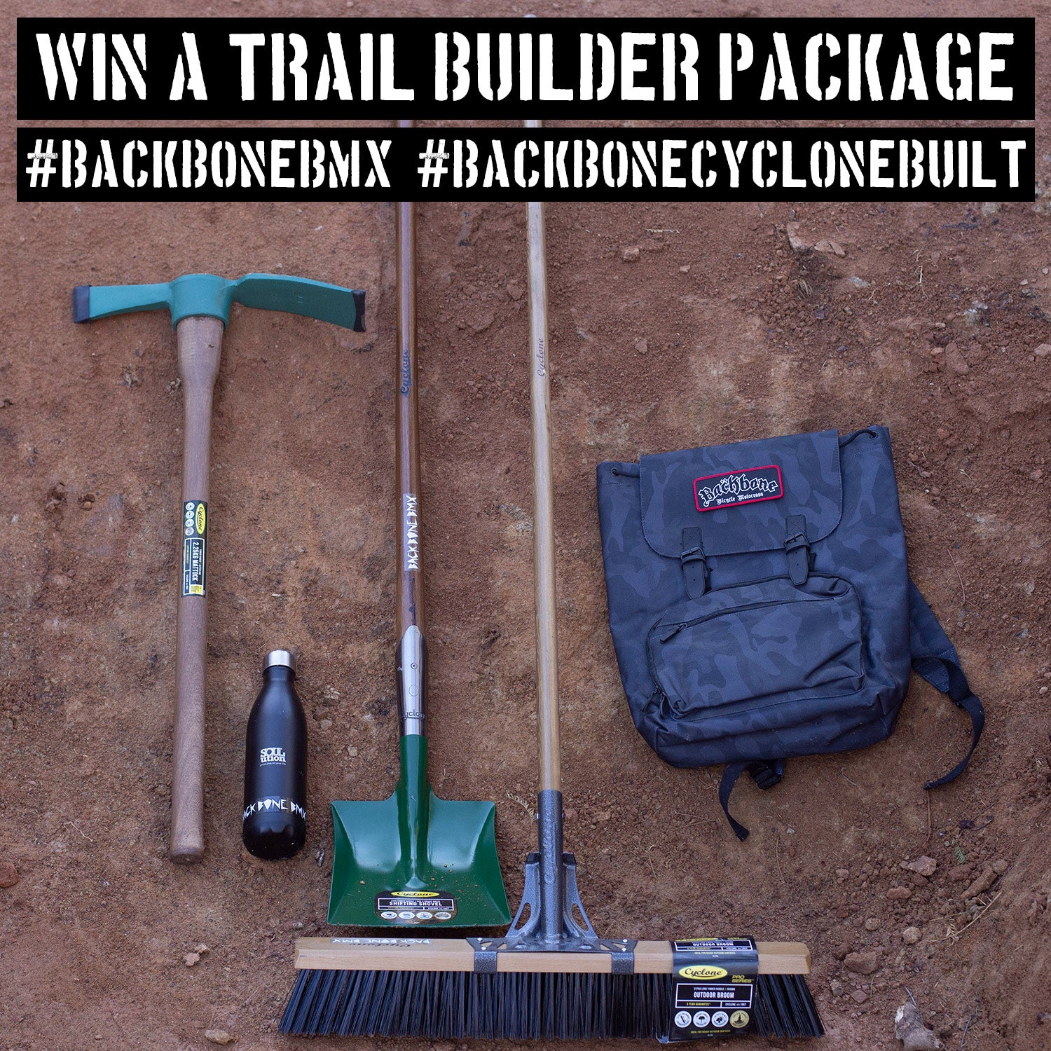 Win a BMX Trails Builder package