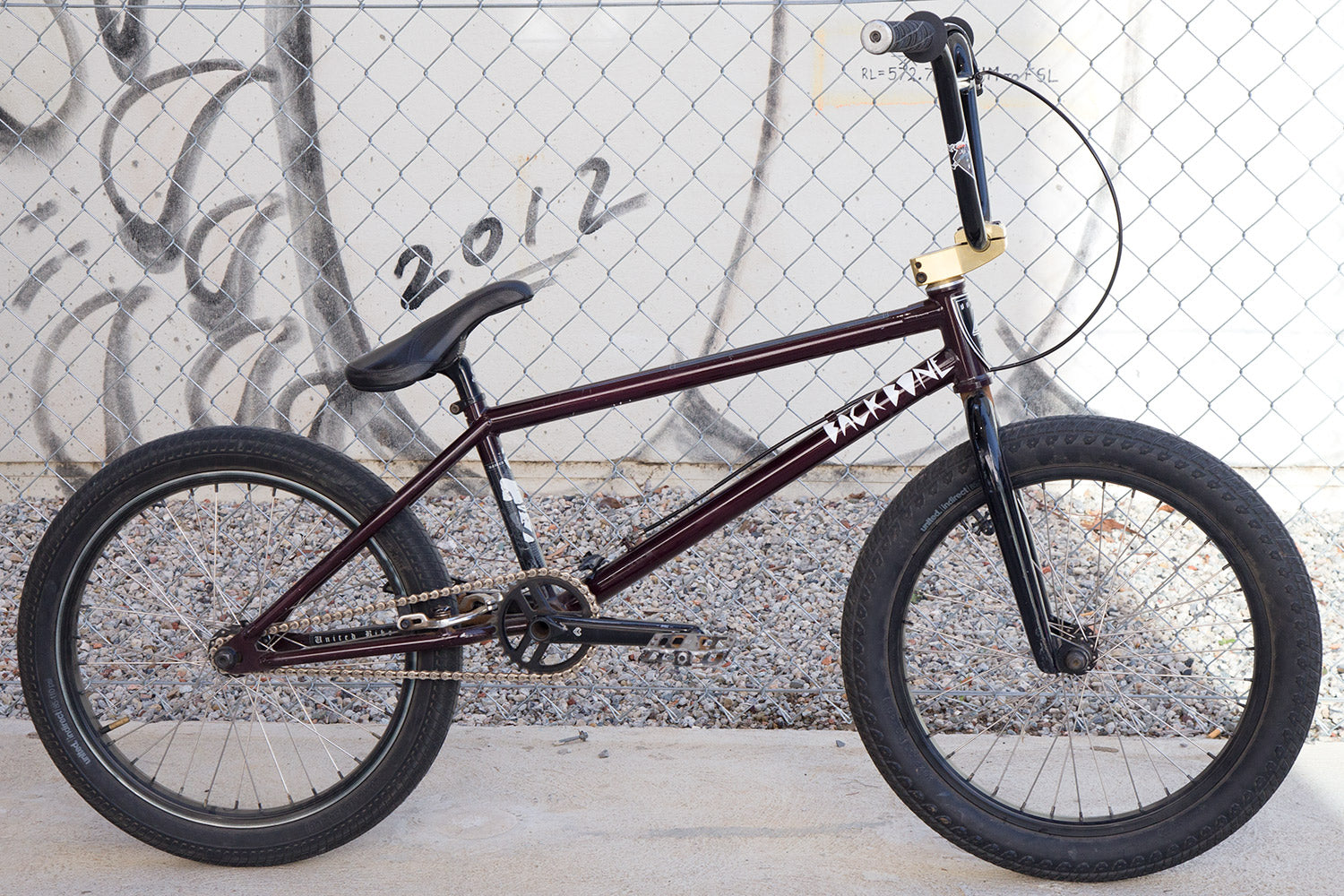 Tyson Jones Peni United Knightsbridge bike check side