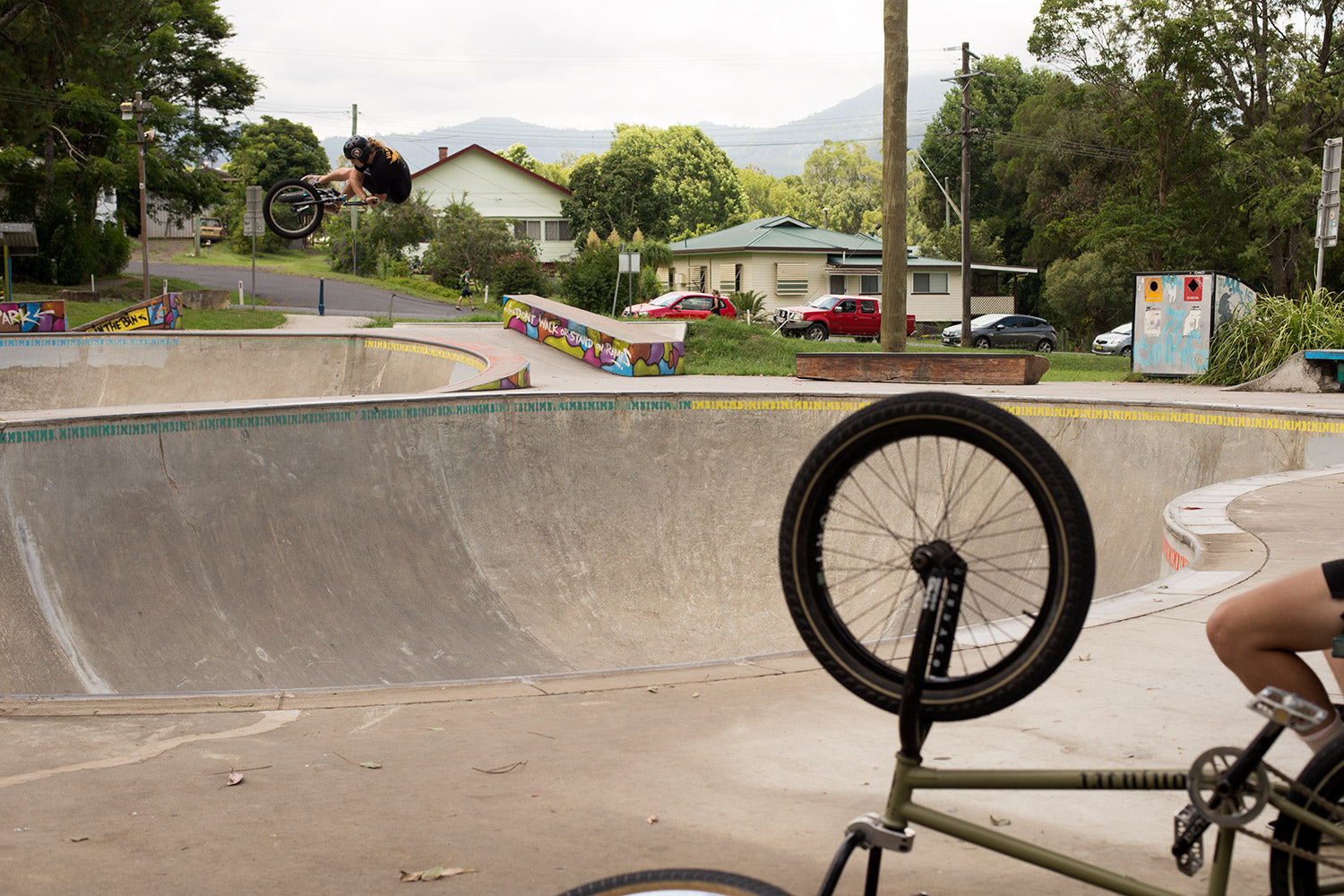 jason watts bmx nimbin alley oop