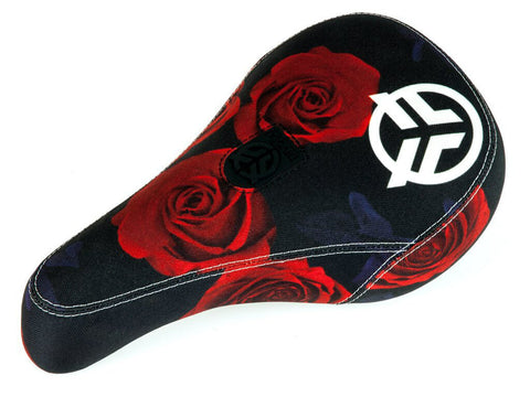Federal Mid Pivotal Roses Seat / Black / Red With White Logo