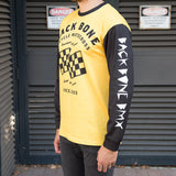PRE-ORDER: Back Bone BMX Always Loose Jersey - Gold/Black
