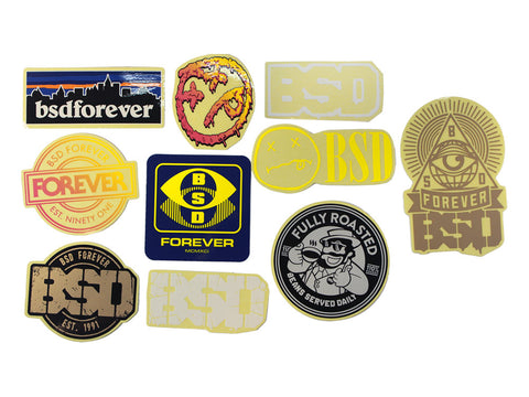 BSD BMX Sticker Kit - 10 Pack