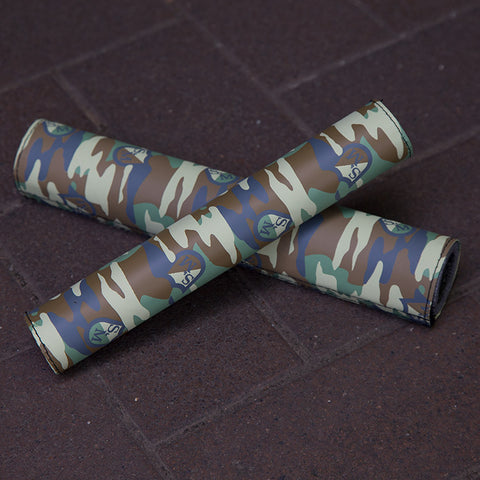 S&M Pad Set - Camo For Sale Back Bone BMX Australia