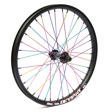 Colony/Alienation Custom Front Wheel For Sale Back Bone BMX Australia