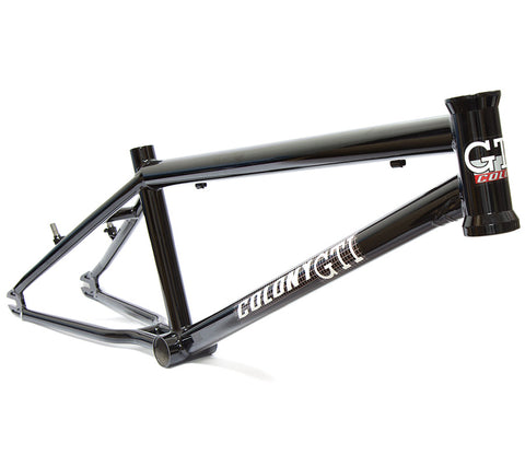 Colony GTI MK1 Race/Trails Frame - Gloss Black - Back Bone BMX Shop Australia